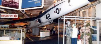 Aircraft carrier Museum in New York