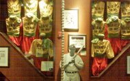 Uniforms from Ripley's baseball team alongside Babe Ruth paraphernalia (Photo: Courtesy of Ripley's)