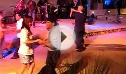 Salsa Dancing at the Museum of latin american art - MOLA